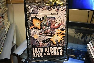 Jack Kirby's The Losers Omnibus DC Hardcover New Sealed RARE OOP 1-12 Comics Set