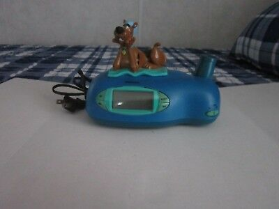 Vintage/Hanna/Barbara( Scooby/Doo/Clock/With/Projector) Tested & Works