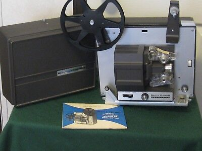 Vintage Bell & Howell 356A AutoLoad Super 8mm Film Movie Projector works