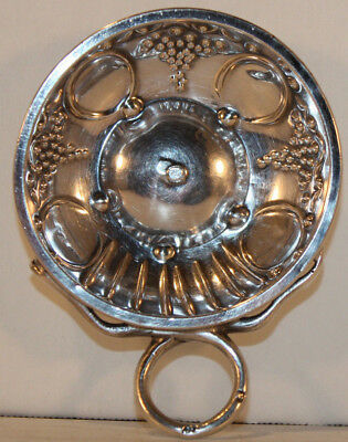 Sterling Silver Wine Taster Cup by French Silversmith Marc Parrod, France
