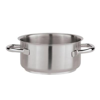 World Cuisine - 11010-20 - 3 1/4 qt Stainless Steel Stew Pot