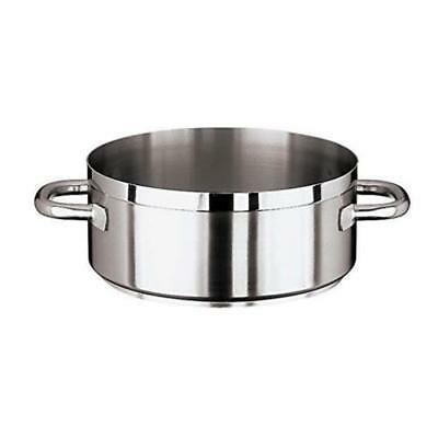 World Cuisine - 11109-28 - Grand Gourmet 7 qt Stainless Steel Rondeau Pot