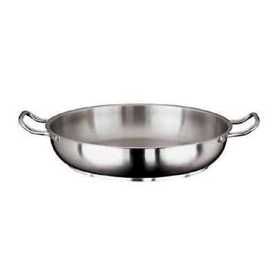 World Cuisine - 11115-24 - Grand Gourmet 9 1/2 in Stainless Steel Paella Pan