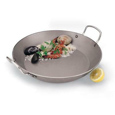 World Cuisine - A4172332 - 12 1/2 in Carbon Steel Paella Pan