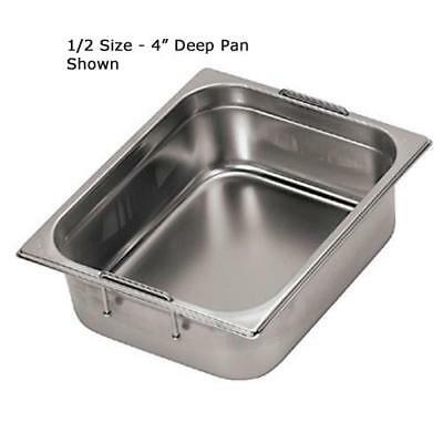World Cuisine - 14158-10 - Fourth Size 4 in Deep Steam Table Pan