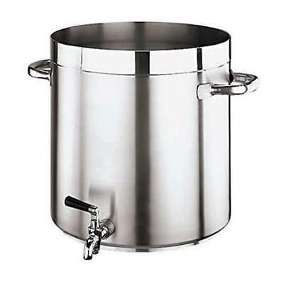 World Cuisine - 11102-36 - Grand Gourmet 38 qt Stainless Steel Stock Pot