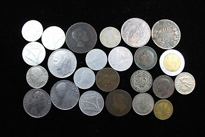 Italy - Vatican  24 assorted coins   lot H 654