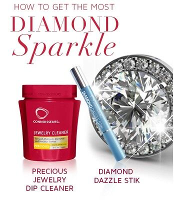 Connoisseurs Diamond Gold Jewellery Complete Dip Cleaning Kit Dazzle Stick Kit 14 95 Picclick Uk