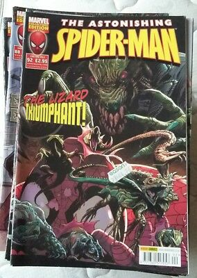 Astonishing Spider-Man volume 3, 68 issues for individual sale