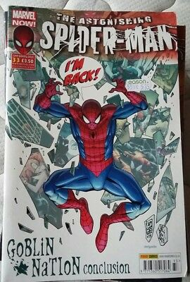 Astonishing Spider-Man volume 4, 32 issues for individual sale
