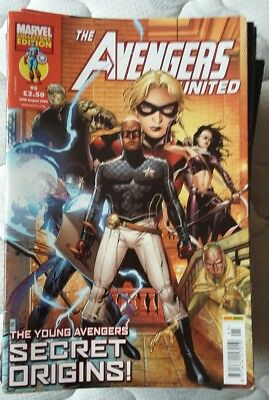 Avengers United, 24 issues for individual sale