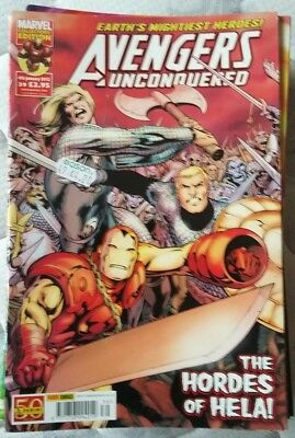 Avengers Unconquered, 24 issues for individual sale