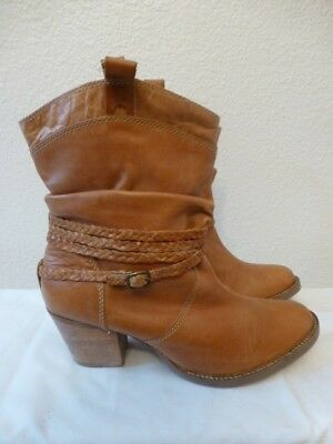 91f05baf10d DINGO WOMEN'S TWISTED Sister Cowboy Western Boots Tan Slouch DI682 ...