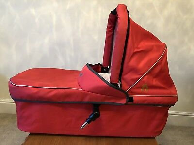 Out N About Nipper Carrycot V2 Will Fit V3 V4 Red