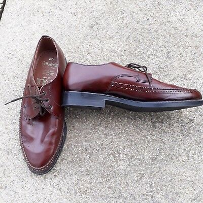 Brown Shoes Vintage Dead Stock Mod Rockabilly Made In England