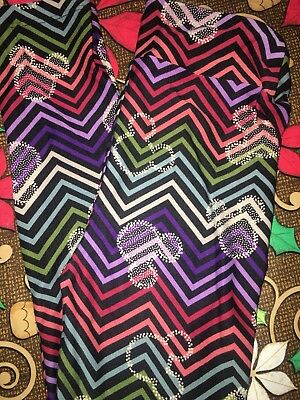 Lularoe Disney L/XL Mickey Minnie Mouse Rainbow Chevron New Collection NWT