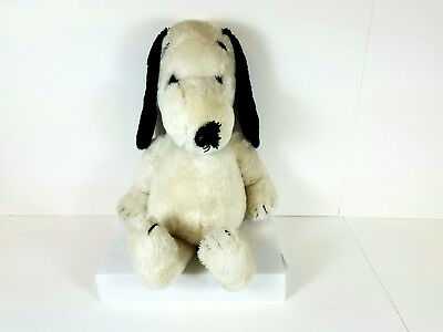 Vintage Snoopy Peanuts Plush Doll Stuffed Animal 1968 Syndicate 20""