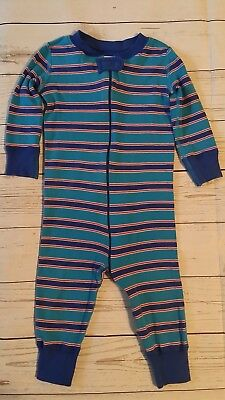 Hanna Andersson Organic Cotton 70 9-18 Month Baby Boy One Piece Sleeper Pajamas