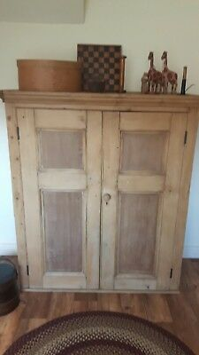 Antique Pine Cupboard Wardrobe