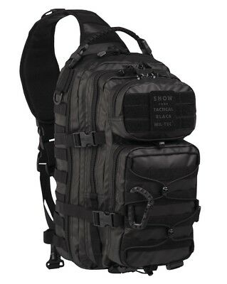 MOLLE ASSAULT ONE STRAP PACK LG TACTICAL BLACK, Rucksack 30 Liter Kampfrucksack