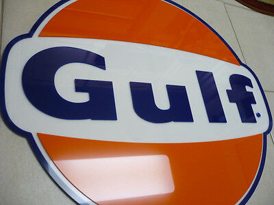 Gulf Sign 3D Gas Station 36""