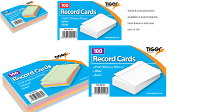 Tiger Revision Flash Index Prompt Report Record Cards Students College Office