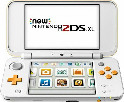 Nintendo New 2DS XL Black/Turquoise Handheld System!