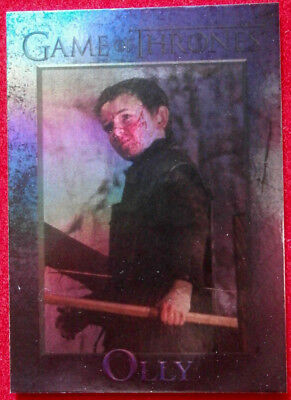 GAME OF THRONES - OLLY - Season 4 - FOIL PARALLEL Card #97