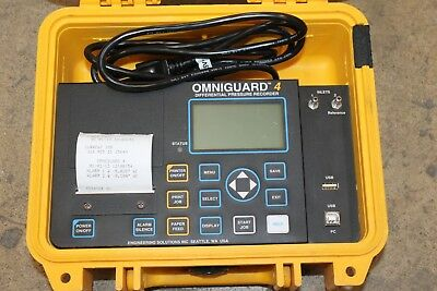 Omniguard 4 Differential Pressure Recorder  Pre-Owned