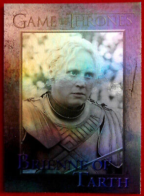 GAME OF THRONES - BRIENNE OF TARTH - Season 3 - FOIL PARALLEL Card #44