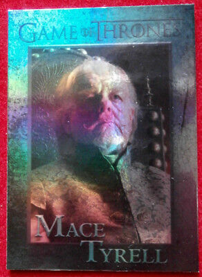 GAME OF THRONES - LORD MACE TYRELL - Season 4 - FOIL PARALLEL Card #88