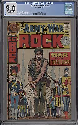 Our Army At War #243 - Cgc 9.0 - 0036911001