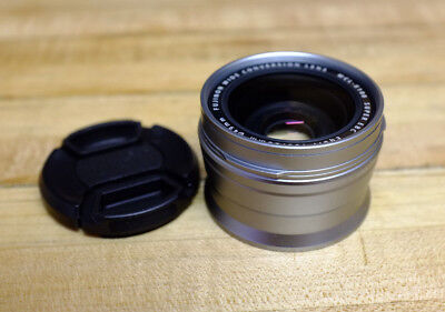 Fujifilm WCL-X100 Wide Conversion Lens (Silver) - USED (EXCELLENT) - For X100