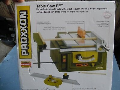 Proxxon No 37070 Table Saw Fet