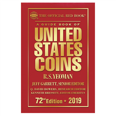 2019 Official Guide Red Book of United States Coins 72nd Edition - Hardcover