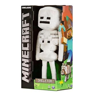 "NEW Minecraft Medium Skeleton 12"" Plush Toy JINX Box Collectible Stuffed 12 Inch"