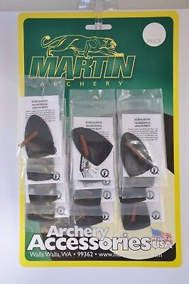 Martin Archery Adhesive Leather Plate for Arrow Shelf, with Spacer