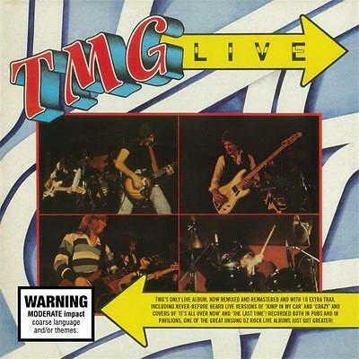 TED MULRY GANG TMG LIVE Expanded Edition REMASTERED CD NEW