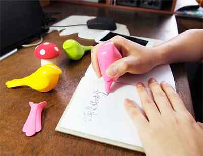 Cute Pet Styling Pen (Color*3)(A group of three pen)(Chinese magpie style)
