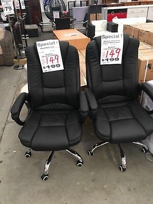 NEW Executive Office Chair PU Leather