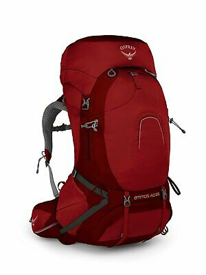Osprey Atmos Ag 65L Men's Backpack Medium - Rigby Red
