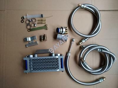 Oil Radiator Cooler Set for 4 stroke Scooter ATV GY6 50 125 150 139QMB 157QMJ