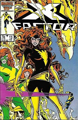 Lot of 8 X-Factor Comics #12-18 & Annual #2 (1987) Includes AngelKey #15 Nice!!