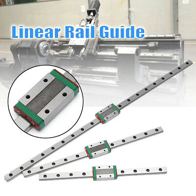 500/300/200mm CNC MGN9 Linear Motion Slider Sliding Miniature Guide Rail & Block