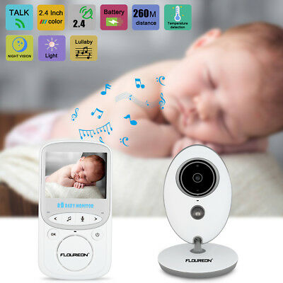 2.4'' LCD Baby Monitor Wireless Camera Security Digital Audio Video Night Vision
