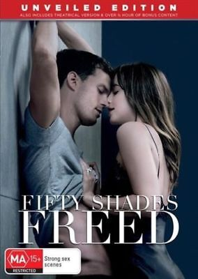 Fifty Shades Freed DVD Brand New  R4