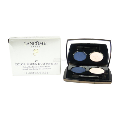 Lancome Color Focus Duo 17 Ciel D´Eau Lidschatten - Make up - Kosmetik - 2x1.3g