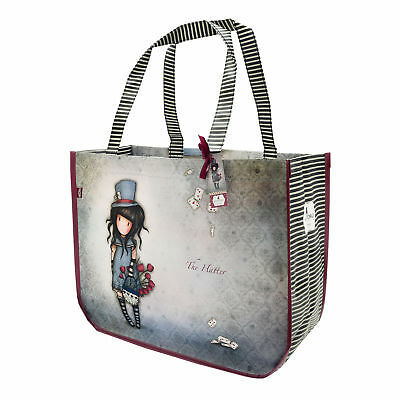 21457efd89 Santoro Gorjuss - Large Sac à provisions - Grand Sac shopping - The Hatter