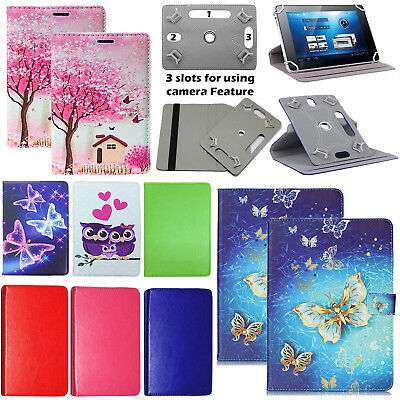 """360°Rotating Universal Cover Case Stand Fits For Vodafone Smart Tab N8 10.1""""inch"""