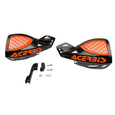 Acerbis Handschalen MX Uniko Vented Racing Style - Schwarz/Orange